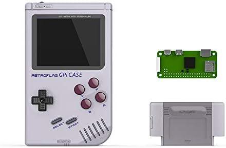 Metermall Accessory Retroflag GPi CASE Gameboy for Raspberry Pi Zero Zero W with Safe Shutdown