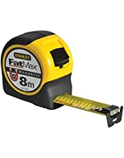 Stanley Cinta métrica FatMax Blade Armor con Gancho magnético, 8 m, FMHT0-33868