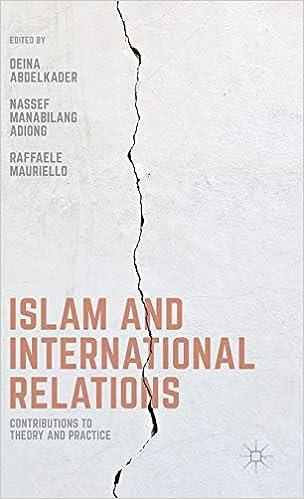 Amazon com: Islam and International Relations: Contributions
