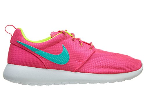 NIKE Kids Roshe One SE (GS) Running Shoe Hyper Pink/Hyper Jade/Volt/White GYzYjq