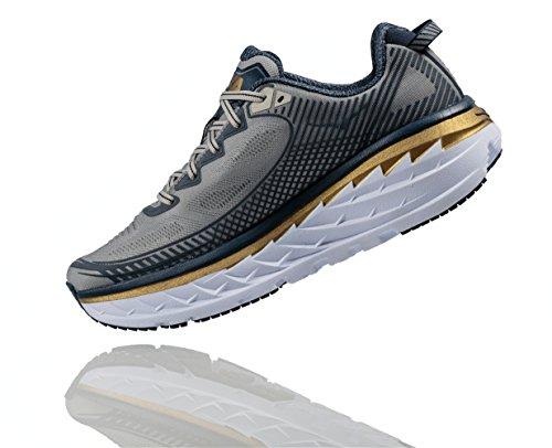 Hoka-One-One-Bondi-5-Cool-GrayMidnight-Navy-Mens-Running-Shoes