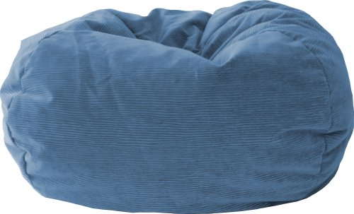 Gold Medal Bean Bags 30014059113 Gold Medal Microsuede Corduroy Bean Bag, Extra Large, Lilac