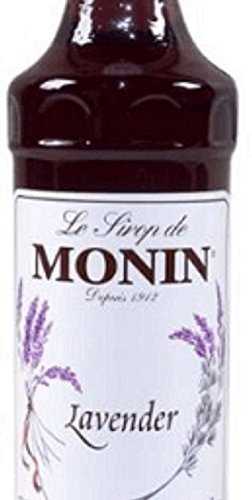 Monin Lavender Syrup, 33.8-Ounce Plastic Bottle (1 Liter)
