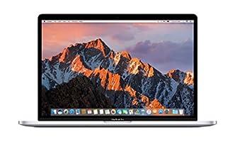 "Apple 15"" MacBook Pro, Retina, Touch Bar, 2.8GHz Intel Core i7 Quad Core, 16GB RAM, 256GB SSD, Silver, MPTU2LL/A (Refurbished)"
