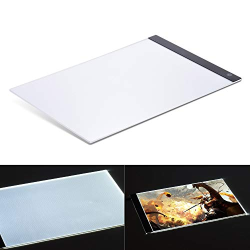 (Best Quality - Digital Tablets - Digital Tablets Ultra-Thin Portable LED Light Box Drawing Tracer Table Painting Tracing Pad Copy Board Panel for Artist X-Ray - by Viet-GT - 1 PCs)