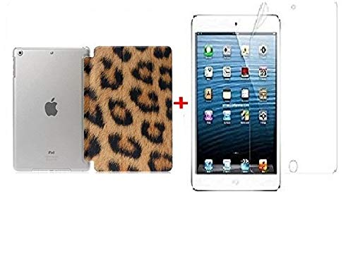 Go Crazzy Lightweight with Stand and Auto Wake/SleepTranslucent Back Flip Smart Cover for nbsp;  Apple iPad Air 1 / iPad 5, Leopard  Bags,Cases   Slee
