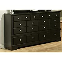Sandberg Furniture Elena 6-Drawer Dresser