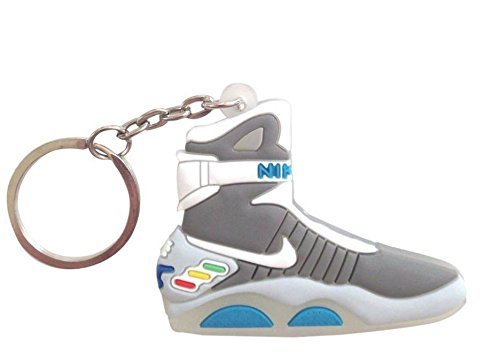 6e1afb996974 Air Mag Keychain - Glow in the Dark - Back to the Future - Import It All