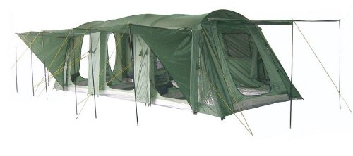 Gettysburg 12 Family Camping Tunnel Tent, Outdoor Stuffs