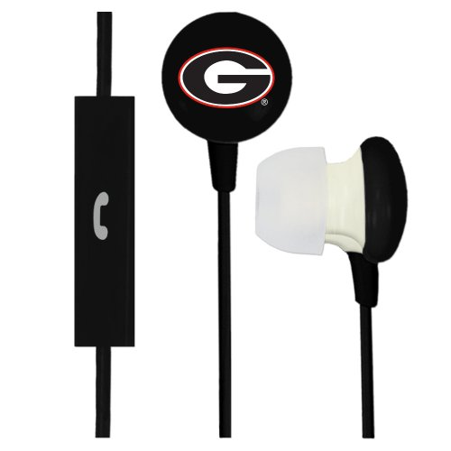 Georgia Bulldogs Ignition Earbuds + Microphone