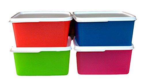 Tupperware Keep Tab Medium   1.2 L   Set of 4