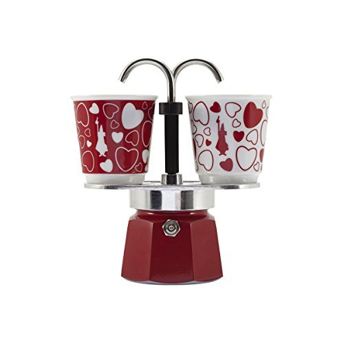 Bialetti Express 2 Cup Mini Express Set 06380 Cuore by Bialetti (Image #1)