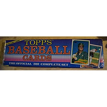 Topps Baseball Cards Complete Set 1989