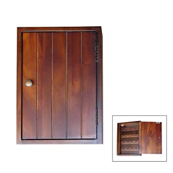 ORE International 14-Inch Mahogany Key Holder Rack