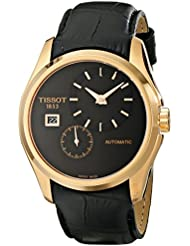 Tissot Mens T0354283605100 Analog Display Automatic Self Wind Black Watch