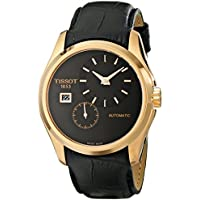 Tissot Men's T0354283605100 Analog Display Automatic Self Wind Black Watch
