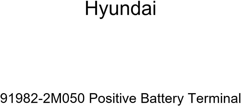 Genuine Hyundai 37260-2E100 Positive Battery Terminal