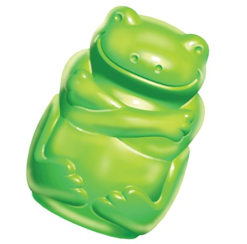 Kong Large Squeezz Jels Frog Dog Toy