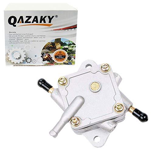 QAZAKY Fuel Pump Replacement for EZGO Golf Cart Gas Car 295cc 350cc Robin Engine TXT & Medalist 4-Cycle Model 72021-G01 1994-UP (Ezgo Golf Cart Fuel Pump)