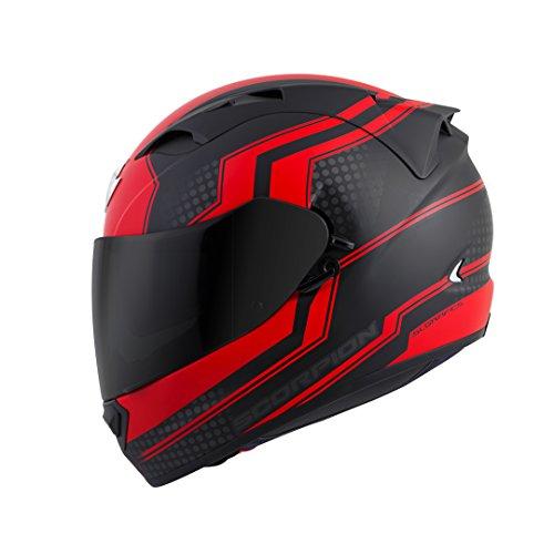 Scorpion EXO-T1200 Alias Street Motorcycle Helmet (Red,