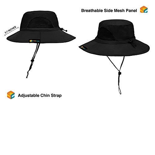 38db9c9cedcfe SUN CUBE Premium Boonie Hat with Wide Brim