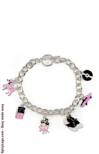 50s Charm Bracelet]()