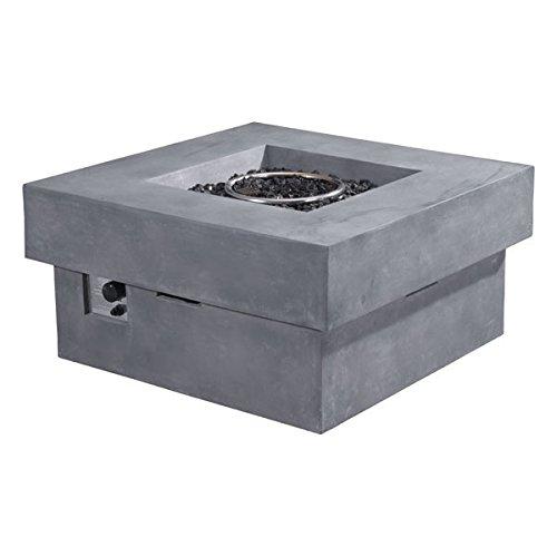 Zuo 100413 Modern Diablo Propane Fire Pit, Gray For Sale