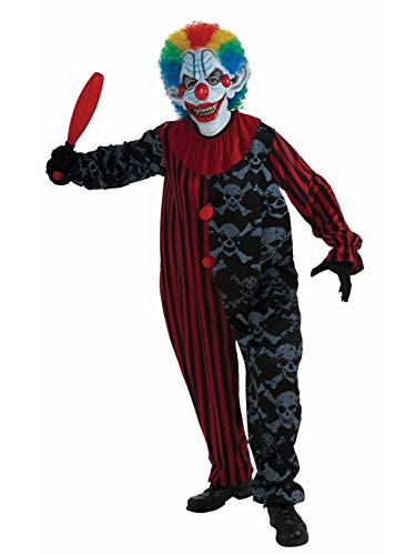 Forum Novelties Men's Creepo The Clown Costume, Multi, One Size -