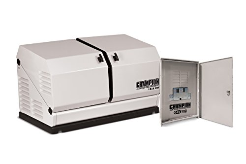 Champion 12.5-kW Home Standby Generator with 100-Amp Outdoor-Rated Automatic Transfer Switch