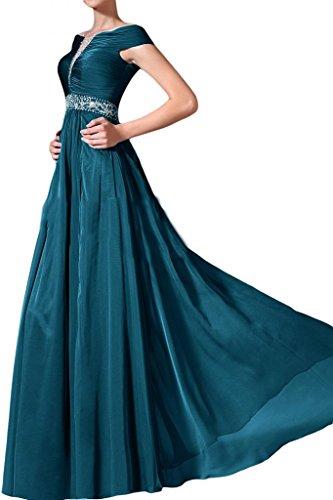 Party Angel Blue Bateau Line Cap Gowns Dresses Sleeves Bride Evening Celebrity A Dark nwwx7f0