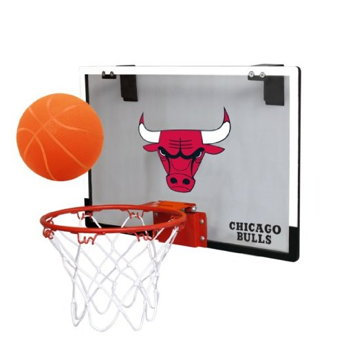 fan products of NBA Chicago Bulls Game On Indoor Basketball Hoop & Ball Set