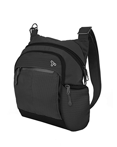 Classic Messenger Bag Backpacks - Travelon Anti-Theft Active Tour Bag, Black