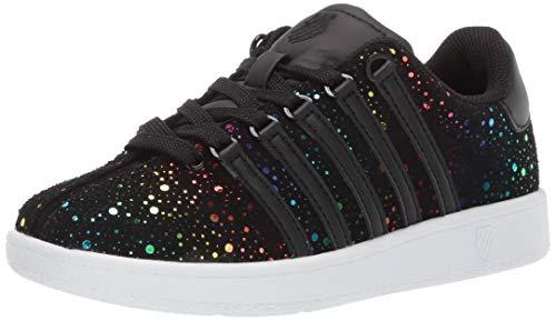 K-Swiss Baby Classic VN Rainbow Sneaker Black, 9 M US Toddler