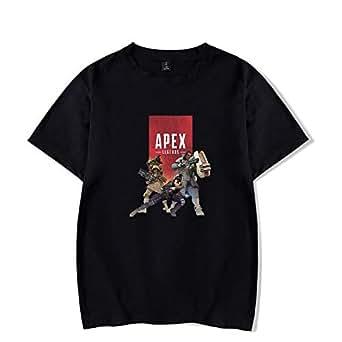 Apex Legends Loose Large Size Round Neck Short Sleeve Unisex T-Shirt for Teenger-H