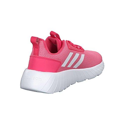 adidas Mädchen Questar Drive Sneaker Pink (Real Pink/Footwear White/Footwear White)