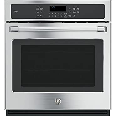 GE CK7000SHSS Cafe 27 Stainless Steel Electric Single Wall Oven Convection