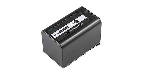 BATERIA para Panasonic ag-ux180 ag-dvx200 ag-ac8 hc-x1000 ag-ac30 aj-pg50 6600mah