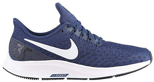 size 40 a92d7 a3b2d Nike Women s Air Zoom Pegasus 35 Running Shoes (Midnight Navy), 9 M US