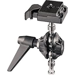Manfrotto 155RC Tilt-Top Head With Quick Plate (Black)