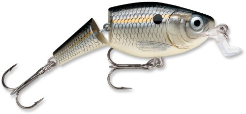 Cheap Rapala Jointed Shallow Shad Rap 5 Fishing Lure, Silver Shad, 2-Inch