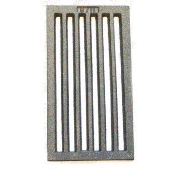 Tafelrost - Ofenrost Gussrost Kaminofenrost Kaminofenrost Kaminofenrost 158x285mm 0c2f2e