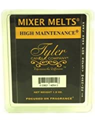1 X High Maintenance Fragrance Scented Wax Mixer Melts by Tyler Candles