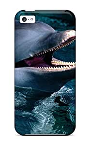 Diy Yourself AmandaMichaelFazio case cover For iPhone 5 5s - Retailer Packaging Dolphins protective case cover TtFTLX5rGt8