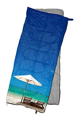 REVALCAMP Lightweight Sleeping Bag – Beach – Indoor & Outdoor use. Great for Kids, Teens & Adults. Ultra Light and Compact Bags are Perfect for Hiking, Backpacking, Camping & Travel.