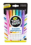 Image of Crayola Take Note! Erasable Highlighters, School Supplies, 6 Count