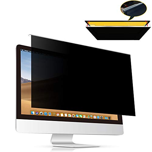 VIYOYA Universal Computer Privacy, Anti-Spy/Glare Screen Filter for 23'' to 24'' Widescreen Monitors Include 23 inch(16:9), 23.6 inch(16:9), 23.8 inch(16:9),24 inch(16:9) and 24 inch(16:10) ()