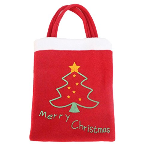 [Elevin(TM) Christmas Gift Bag Candy Bag Merry Christmas Candy Bags Christmas Tree (A)] (Makeup For A Bat Costume)