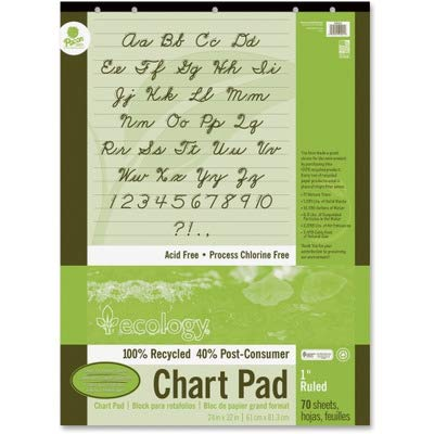 PAC945610 - Pacon S.A.V.E Recycled Chart Pads
