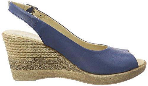 1675710 Andrea Delle Talloni Donne 274 Conti jeans Blu Sandali 4qSr5q