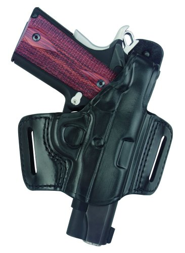 G&G Blk Belt Slide Holster w/Thumb Break Most 1911 Pistol LH